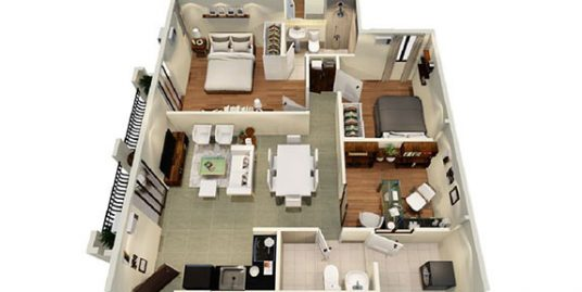 Valenza Mansions | CitiSuites 2BR with Office