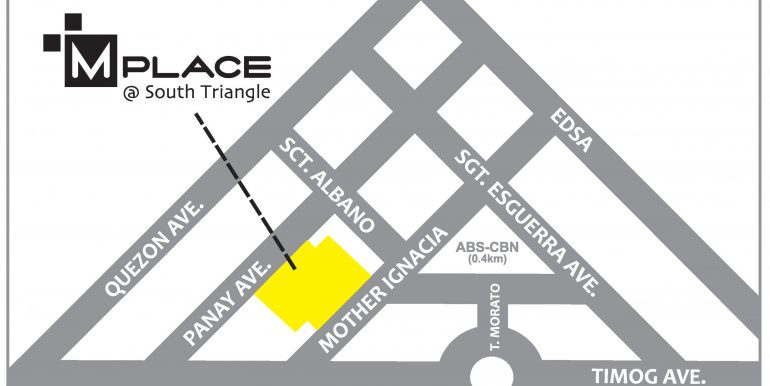 MPlace - Vicinity Map - 2015