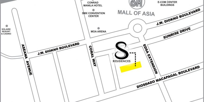 S Residences Map