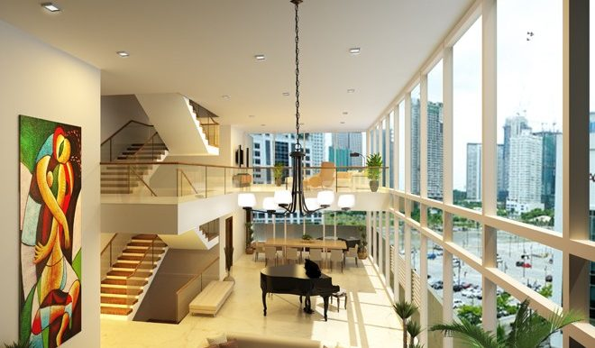 East-Gallery-Place-Villa-Double-Volume-Living-and-Dining