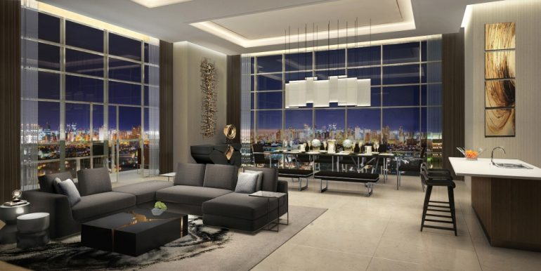 West-Gallery-Place-skyrise-living-and-dining-area